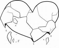 Malvorlage Gebrochenes Herz Gebrochenes Herz Malvorlage Malbild