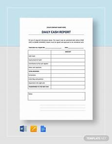 Report Cash Free 26 Sample Daily Reports In Google Docs Ms Word