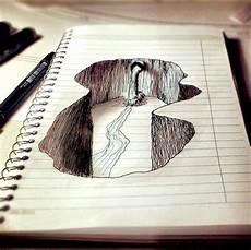 desenho criativos 7 inovadores desenhos que utilizam as linhas do papel como