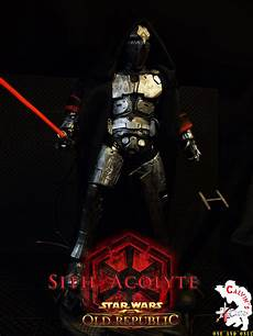 Light Sith Calvin S Custom One Sixth Sith Acolyte With Light Up Saber