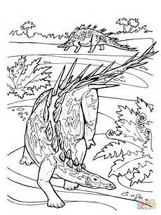 kleurplaten jurassic world raptor blue ausmalbild