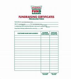 Free Fundraising Forms Templates 20 Order Template Word Excel Pdf Free Amp Premium