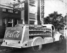 Coca Cola St Petersburg Fl Florida Memory Coca Cola Truck Outside The Bottling