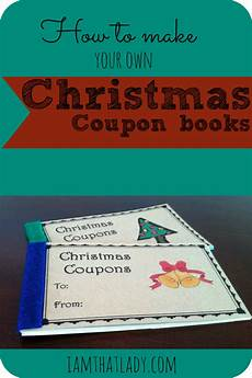 Christmas Coupon Book Christmas Coupon Books Print These Off For Free For