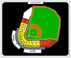 Coca Cola Theater Seating Chart Coca Cola Park Seating Chart Ticket Solutions