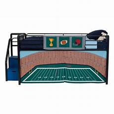 dhp football stadium curtain set for junior loft bed