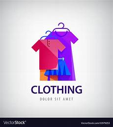 Logo For Clothing Clothing Logo Online Shop Fashion Icon Royalty Free Vector