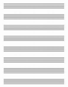 Piano Staff Paper 5 Best Images Of Free Printable Staff Paper Blank Sheet