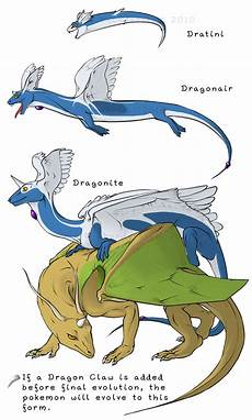 Pokemon Dragonair Evolution Chart Dratini S Evolution Chart Pokemon