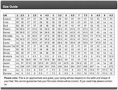 French Size Chart Losetheshoes Shoe Size Conversion Chart Unisa Shoes