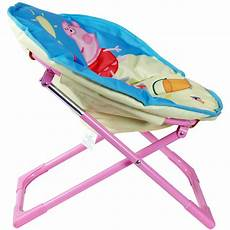 Pig Sofa Seat 3d Image by Peppa Pig Folding Oval Moon Chair Seat New Ebay