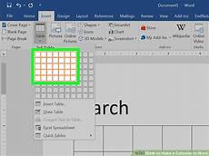 How To Make A 12 Month Calendar In Word How To Make A Calendar In Word With Pictures Wikihow