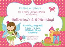 Fairy Invites Fairy Princess Party Birthday Invitation By Thebutterflypress
