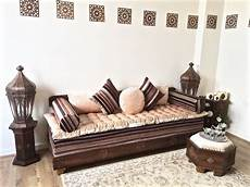 luxurious moroccan sofa bench daybed 3 seater