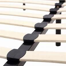 74 quot 79 quot size wood slat platform bed frame