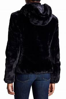 fury coats for save the duck fury faux fur reversible jacket in black lyst