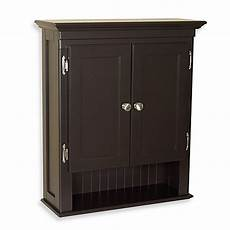 fairmont wall mounted cabinet in espresso bed bath beyond
