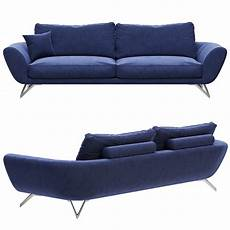 Large Sofa 3d Image by Roche Bobois Caractere Large 3 Seat Sofa 3d Model For Vray