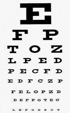 Free Printable Eye Chart Vision Test This Is One Way To Find Out If People Have Myopia By Doing