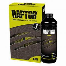 u pol raptor black tough protective coating uv resistant