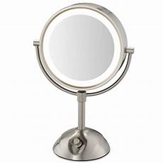Conair 3x 1x Magnification Mirror With Led Lighting Conair 174 Be103wh 8 5 Quot Lighted Vanity Mirror 1x 5x