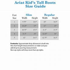 Ariat Heritage Contour Size Chart Ariat English Kids Heritage Contour Field Boot Regular