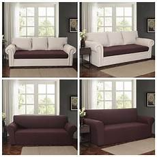 2 Sofa Cover For 3 Cushions 3d Image by Durable 2 Seat Loveseat Sofa Slipcover With Separate