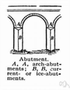 Abutment Definition Abutment Arch Definition Of Abutment Arch By The Free