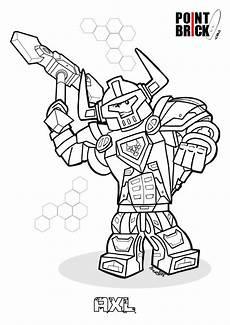 disegni da colorare lego nexo knights nexo knights