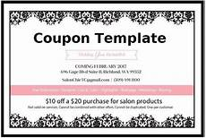 Coupon Template Free Word Free Coupon Template Free Word Templates
