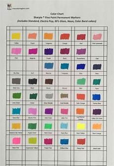Memento Markers Color Chart Sharpie Fine Point Markers Color Chart Sharpie Fine