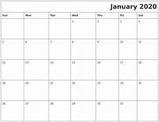 January 2020 Calendar Download January 2020 Download Calendar