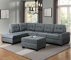 bright designs 3 sectional sofa with cup
