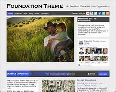 Foundation Themes 25 Nonprofit Wordpress Themes Creative Cancreative Can