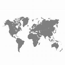 Black And Grey World Map Grey World Map Free Vector