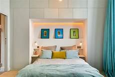 piccola da letto costruire nicchie salvaspazio in casa idee muratori