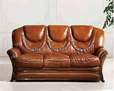 european furniture sofa bed in light brown finish 33ss42