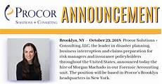 New Hire Announcement New Hire Announcement Morgan Machado Procor Solutions