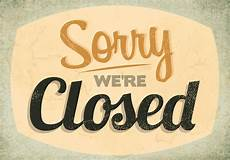 Closed For Business Sign Classic Closed Sign Vector Download Free Vectors
