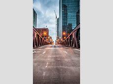 Wallpaper Clark Street Bridge, Chicago, USA, travel