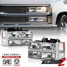 1997 Chevy Silverado Light Bulb 1994 1998 Chevy Silverado Suburban Tahoe Ck Chrome Bumper