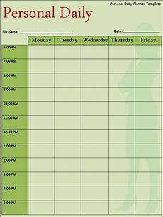 Daily Routine Format 21 Free Daily Schedule Template Word Excel Formats