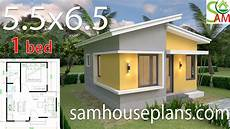 6 Bedroom House Design Ideas Small House Design Plans 5 5x6 5 With One Bedroom Shed