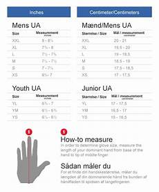 Under Armour Sizing Chart Youth Under Armor Sizing Chart For Youth Gloves Di 2020