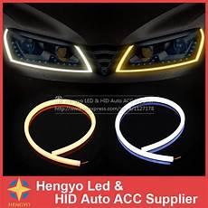 Led Daytime Running Lights Strips External Lights 60cm Led Flexible Drl Led Daytime
