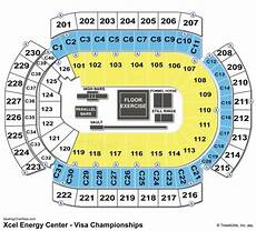 Xcel Energy Center Interactive Seating Chart Xcel Energy Center Seating Chart Seating Charts Amp Tickets