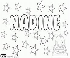 Nadines Malvorlagen Ausmalbilder M 228 Dchennamen Mit N Malvorlagen