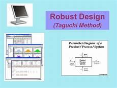 Taguchi Method Robust Design Taguchi Method