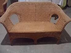 divani in vimini divano in vimini per il giardino arredamento giardini
