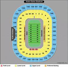 Notre Dame Stadium Seating Chart View Notre Dame Fighting Irish Football Tickets 2018 Nd Games